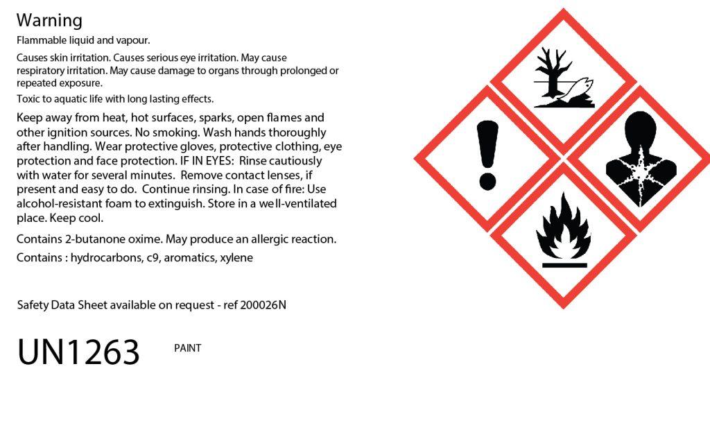 200:026 QD Industrial Zinc Phosphate Primer